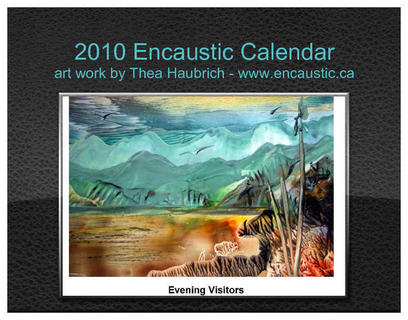 2010 Encaustic calendar