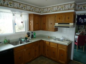 kitchen: old