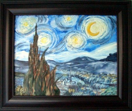 Thea Haubrich: Starry Night/Van Gogh