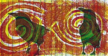 Thea Haubrich - Targets, screen print